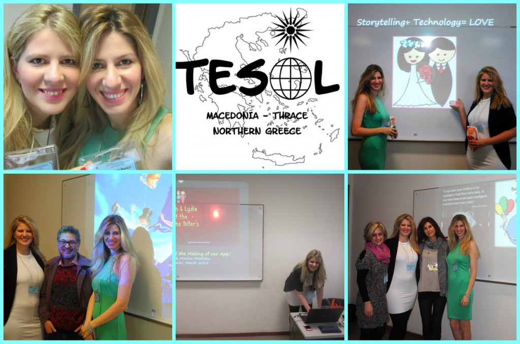 Selected moments from our presentation @TESOL  Macedonia, Thrace.